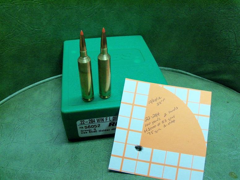 22-284 Winchester cartridge development   knowyourzero